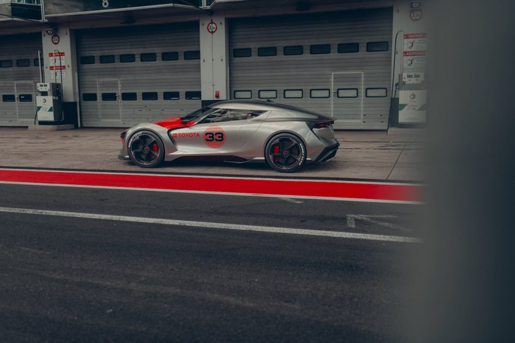 Toyota Concept BG GT side