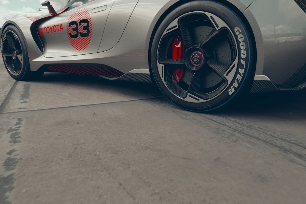 Toyota Concept BG GT wheels