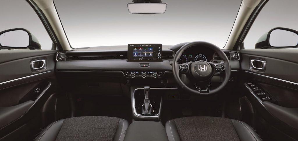 2021 Honda HR-V interior dashboard Vezel