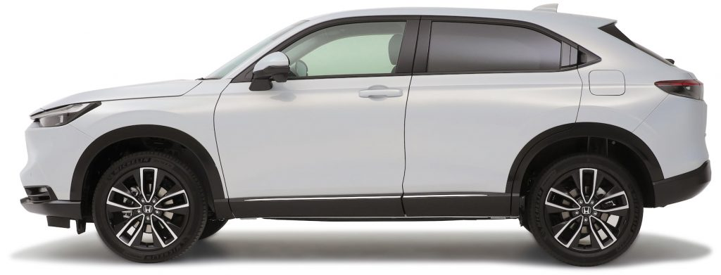 2021 Honda HR-V profile side Vezel
