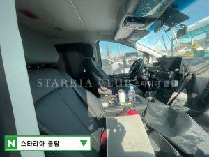 2021 Hyundai H1 H-1 Staria interior spy shot