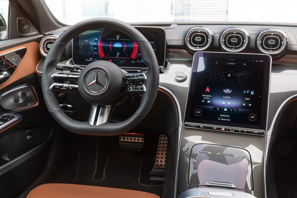 2021 Mercedes C-Class W206 dashboard driver side