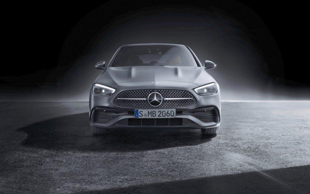 2021 Mercedes C-Class W206 front