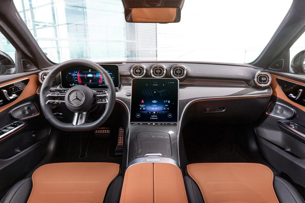 2021 Mercedes C-Class W206 interior dashboard