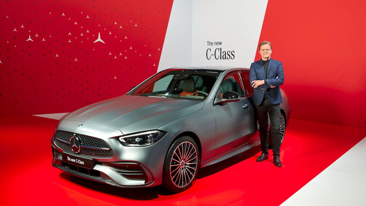 2021 Mercedes C-Class W206 launch unveil live image