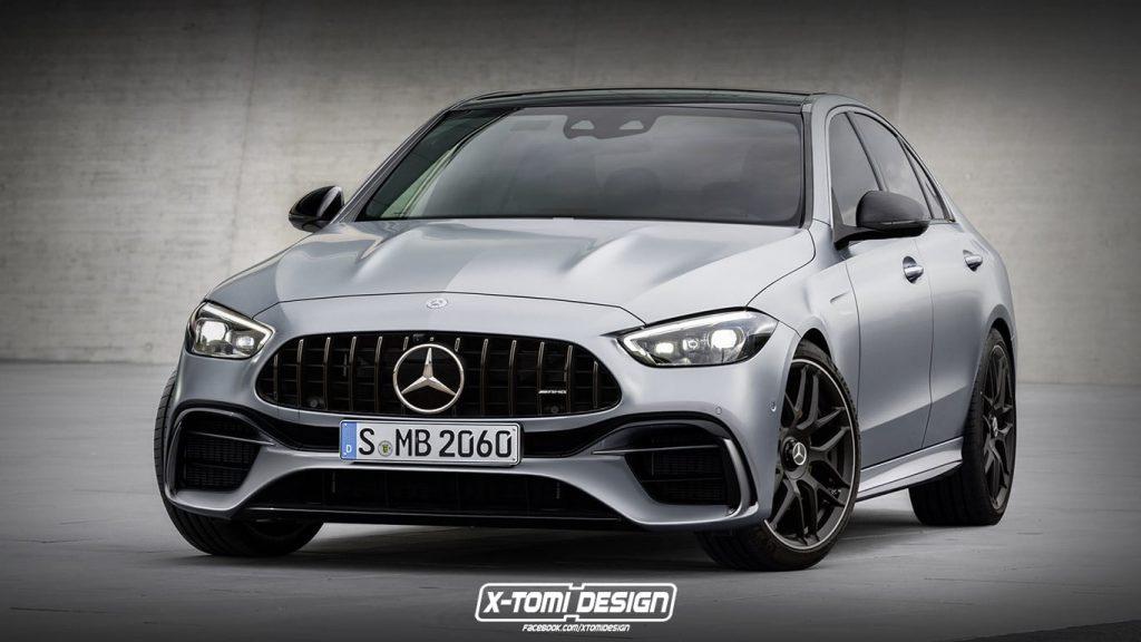 2022 Mercedes-AMG C63 rendering