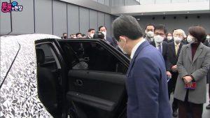Hyundai Ioniq 5 interior Chung Sye kyun