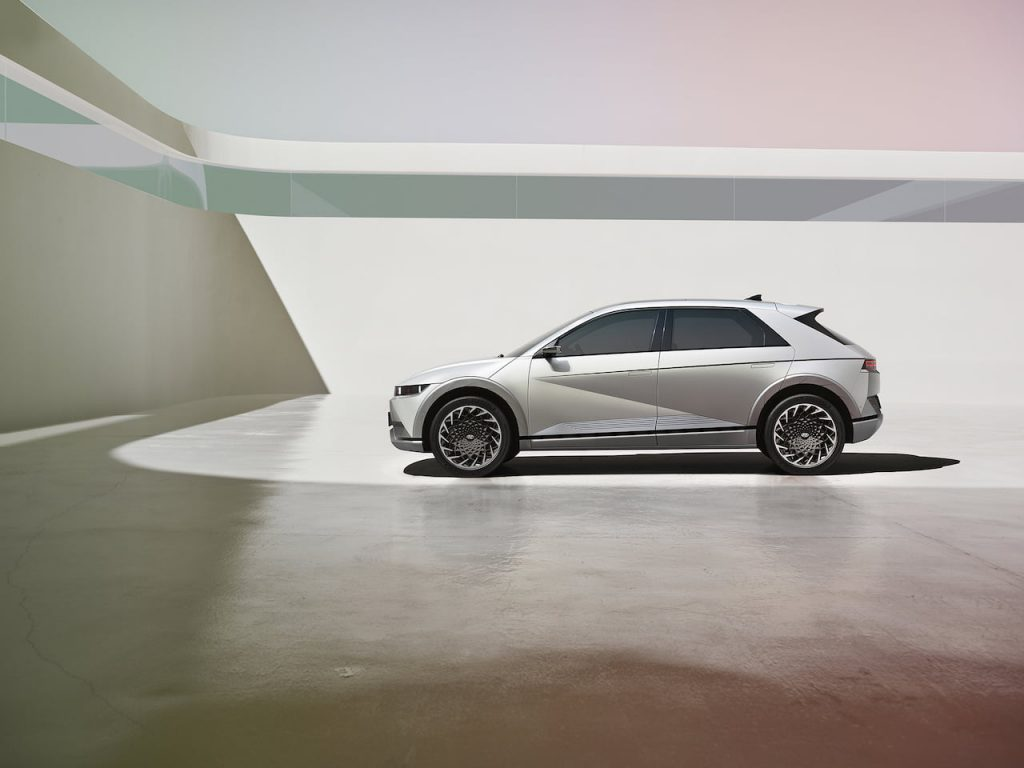 Hyundai Ioniq 5 side profile