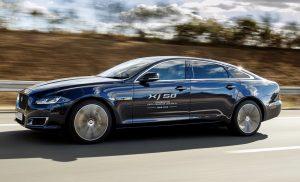 Jaguar XJ side