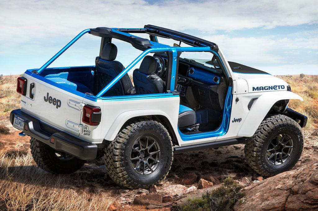 Jeep Magneto rear