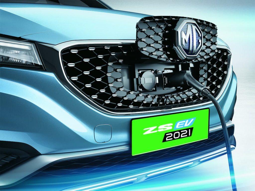 MG ZS EV 2021 charging