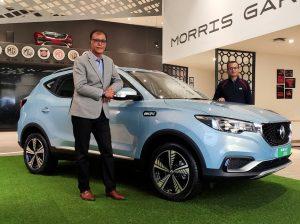 MG ZS EV 2021 launch