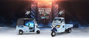 New Piaggio Ape Electric three-wheelers launched in India