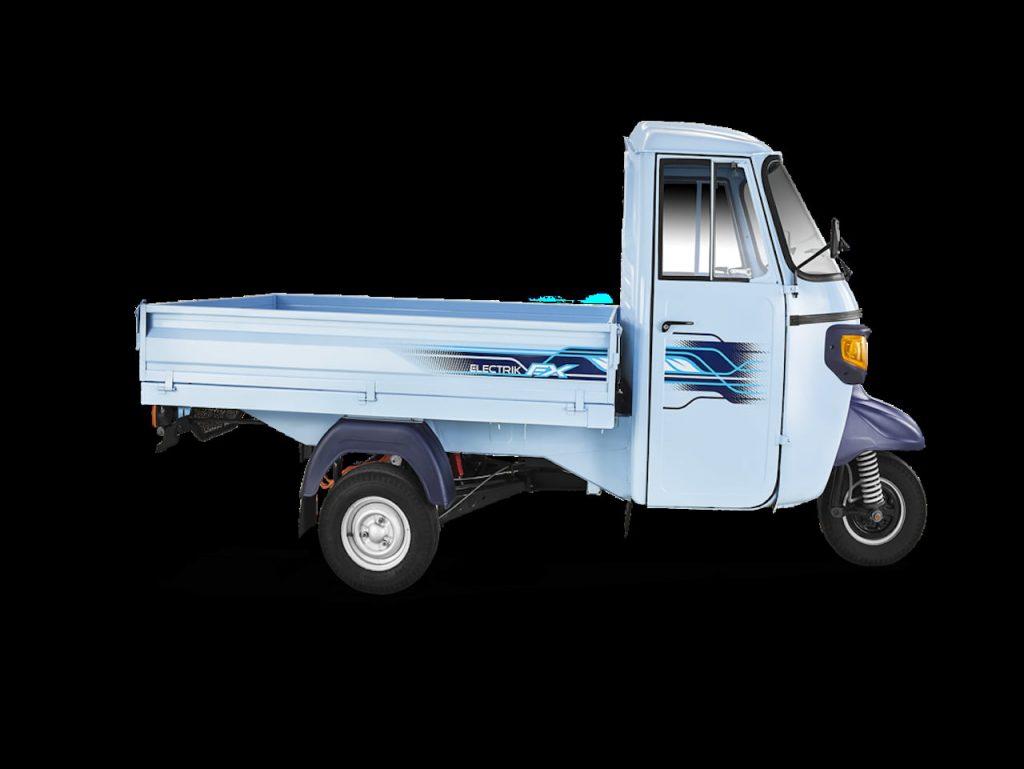 Piaggio Ape e-Xtra cargo profile side