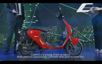 Super Soco CUmini low-cost electric scooter coming to India