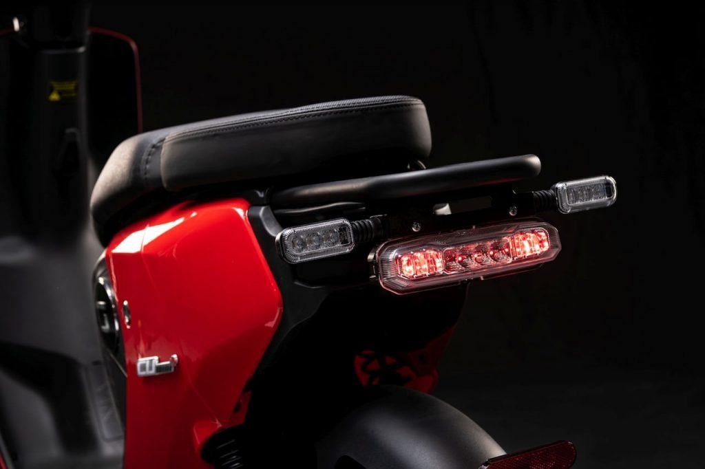 Super Soco CUmini rear lights