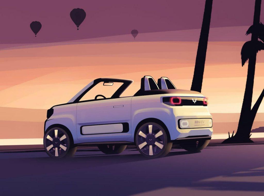 2021 Wuling Mini EV Cabriolet