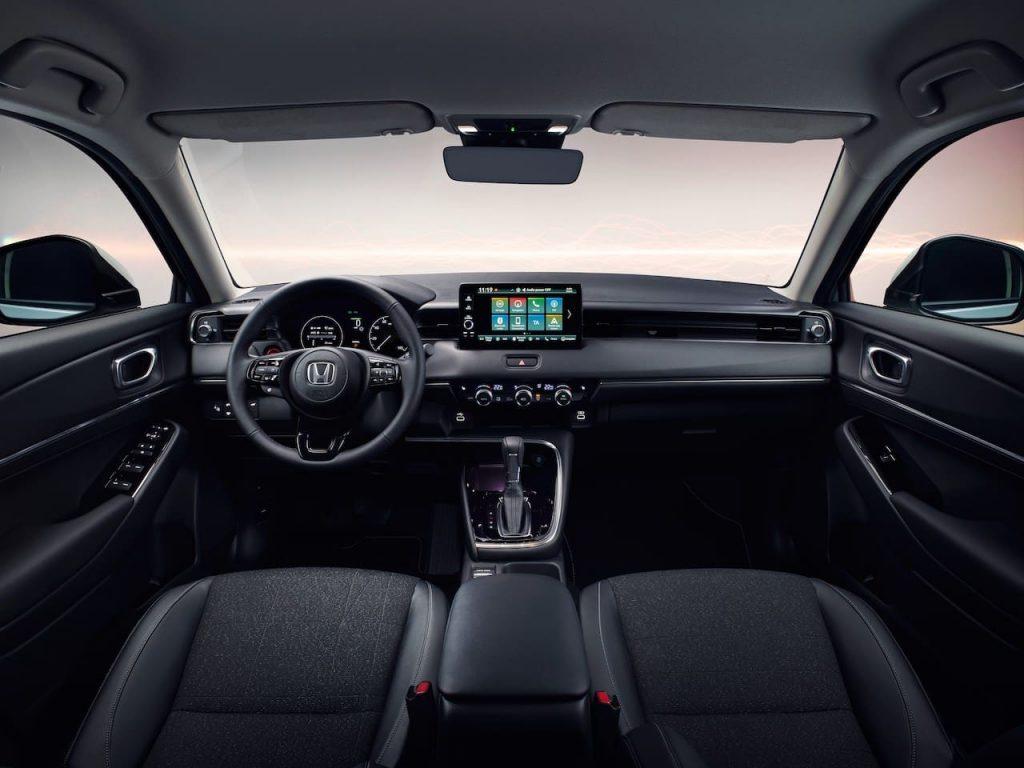 EU 2021 Honda HR-V interior dashboard