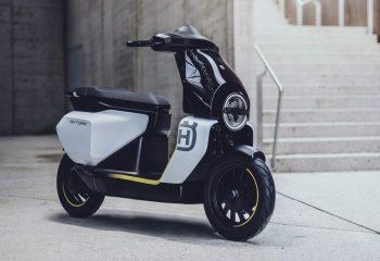Chetak-based Vektorr previews the 2022 Husqvarna electric scooter