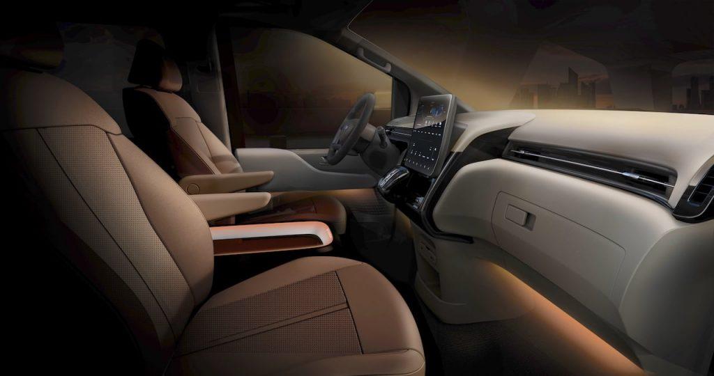 Hyundai Staria (New Hyundai H1 2021) interior dashboard teaser