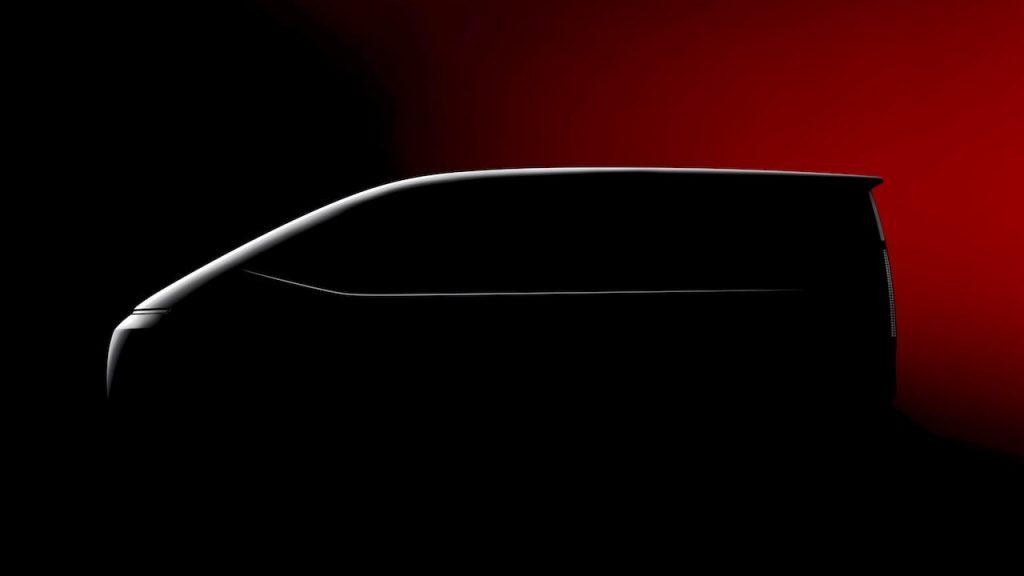 Hyundai Staria (New Hyundai H1 2021) profile side teaser