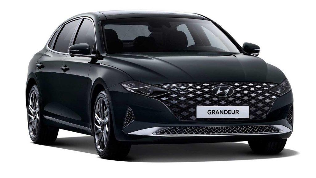 Hyundai Grandeur or Hyundai Azera front