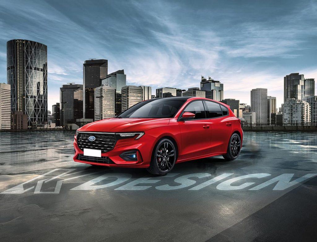2022 Ford Focus rendering