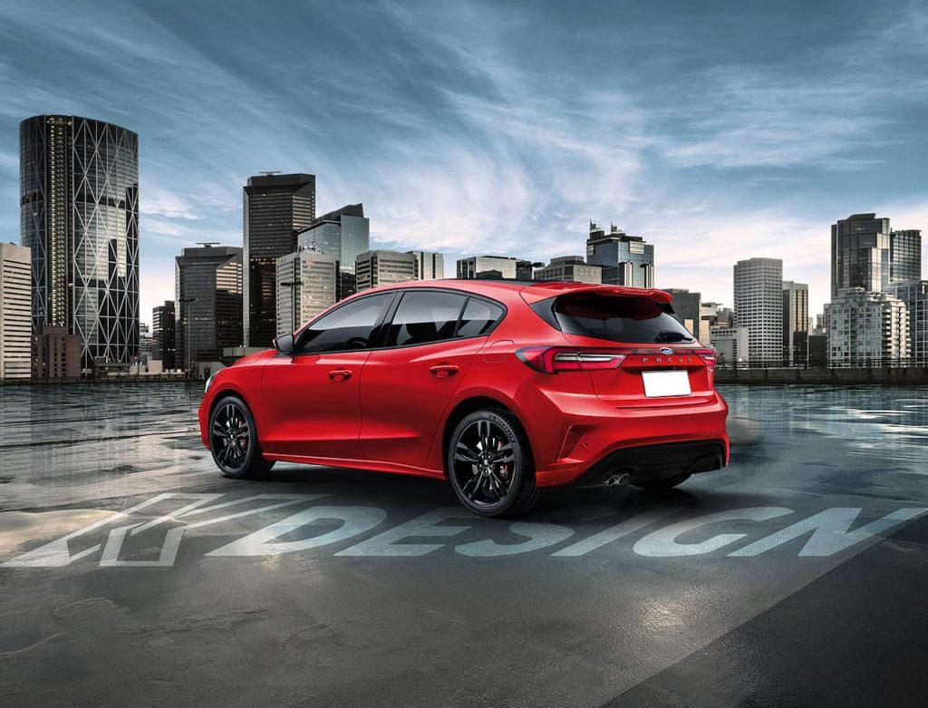 2022 Ford Focus rendering rear