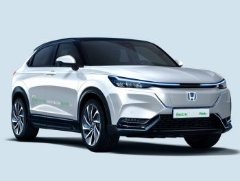 Honda HR-V electric SUV rendered in production guise