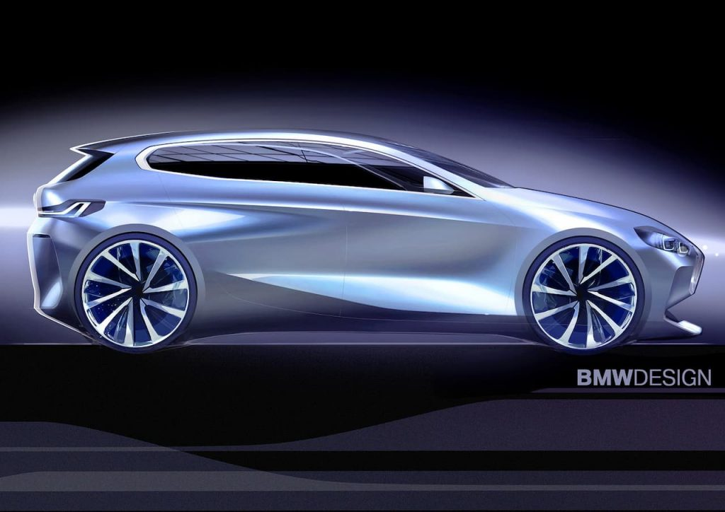 BMW 1 Series sketch