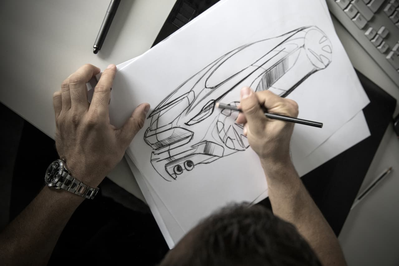 BMW 1 Series sketch official