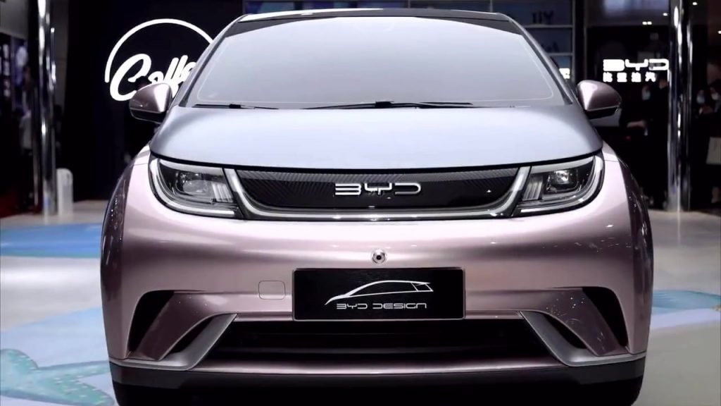 BYD EA1 front close