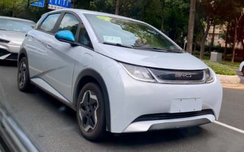 Australia-bound BYD EA1 snapped with VW ID.3-style wheels