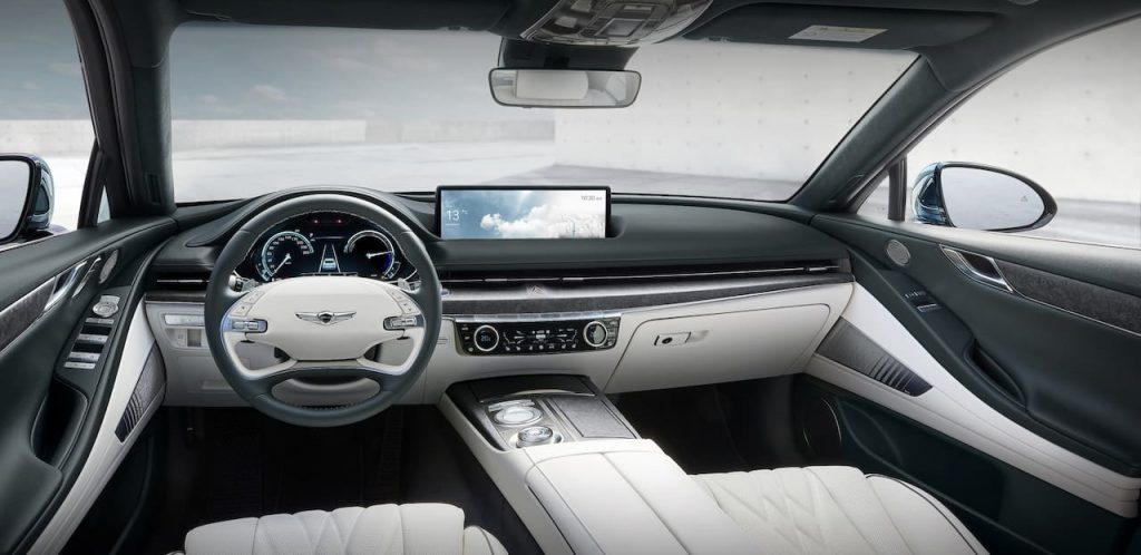 Genesis G80 EV interior