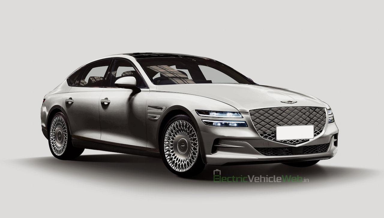 Genesis G80e EV rendering