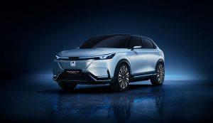 Honda SUV e-prototype front image