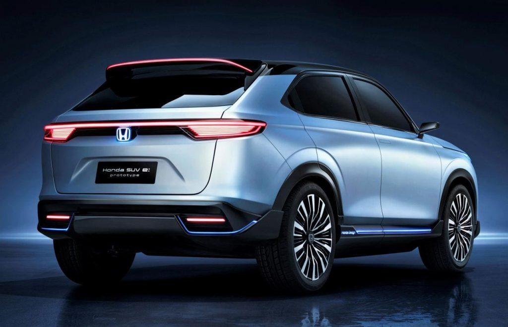 Honda SUV-e prototype rear