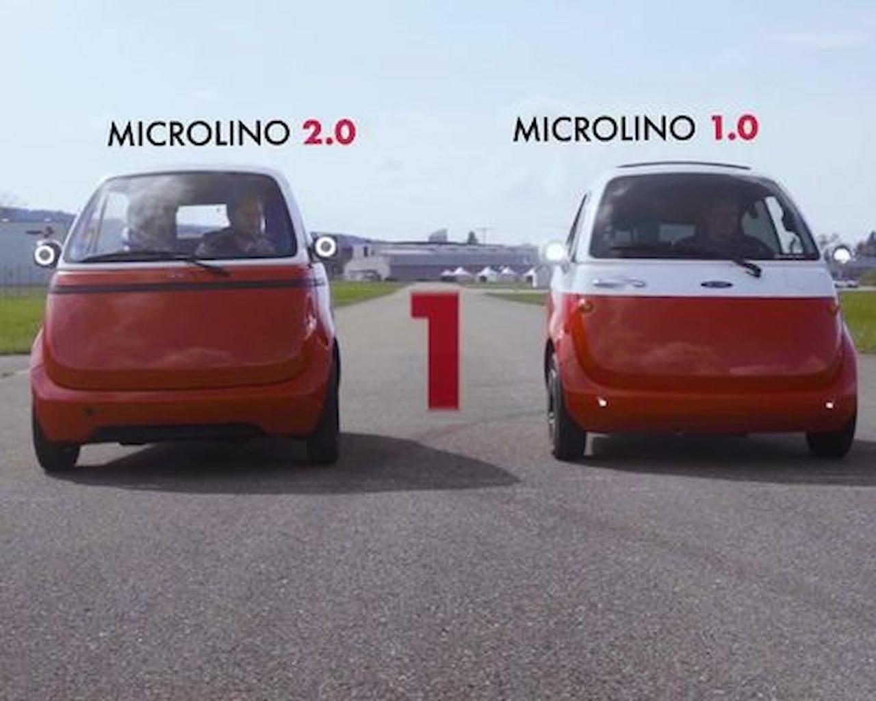 Microlino 2.0 vs. Microlino 1.0 front