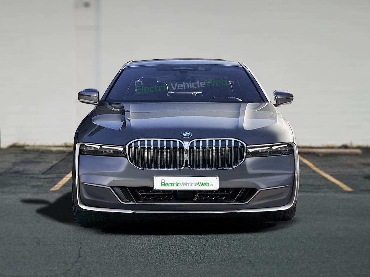 2022 BMW 7 Series front rendering