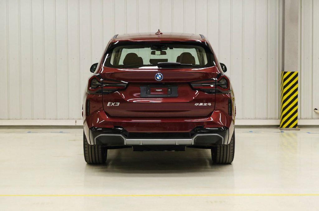 2022 BMW iX3 (facelift) rear image