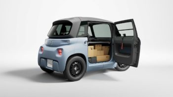 Following Cargo, Citroen Ami coming in new versions, hints design chief