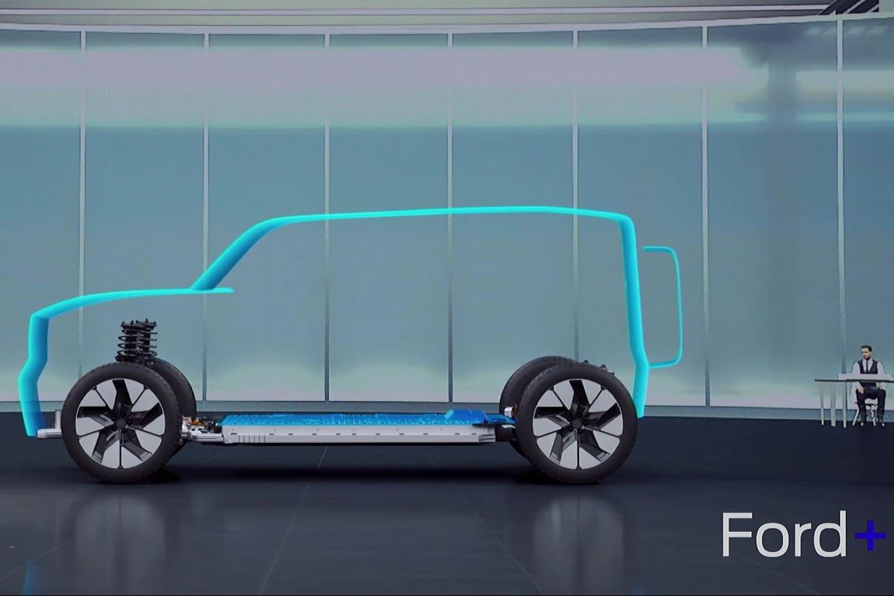 Ford Bronco EV teaser