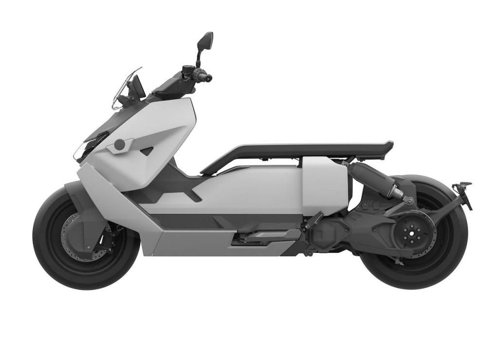 Production BMW CE 04 side profile
