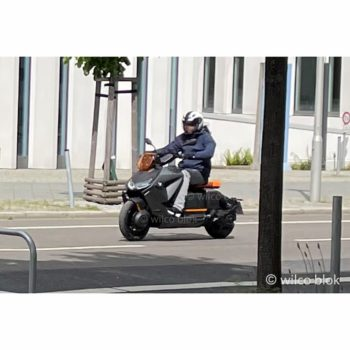 Production BMW CE 04 electric scooter spied ahead of an imminent launch