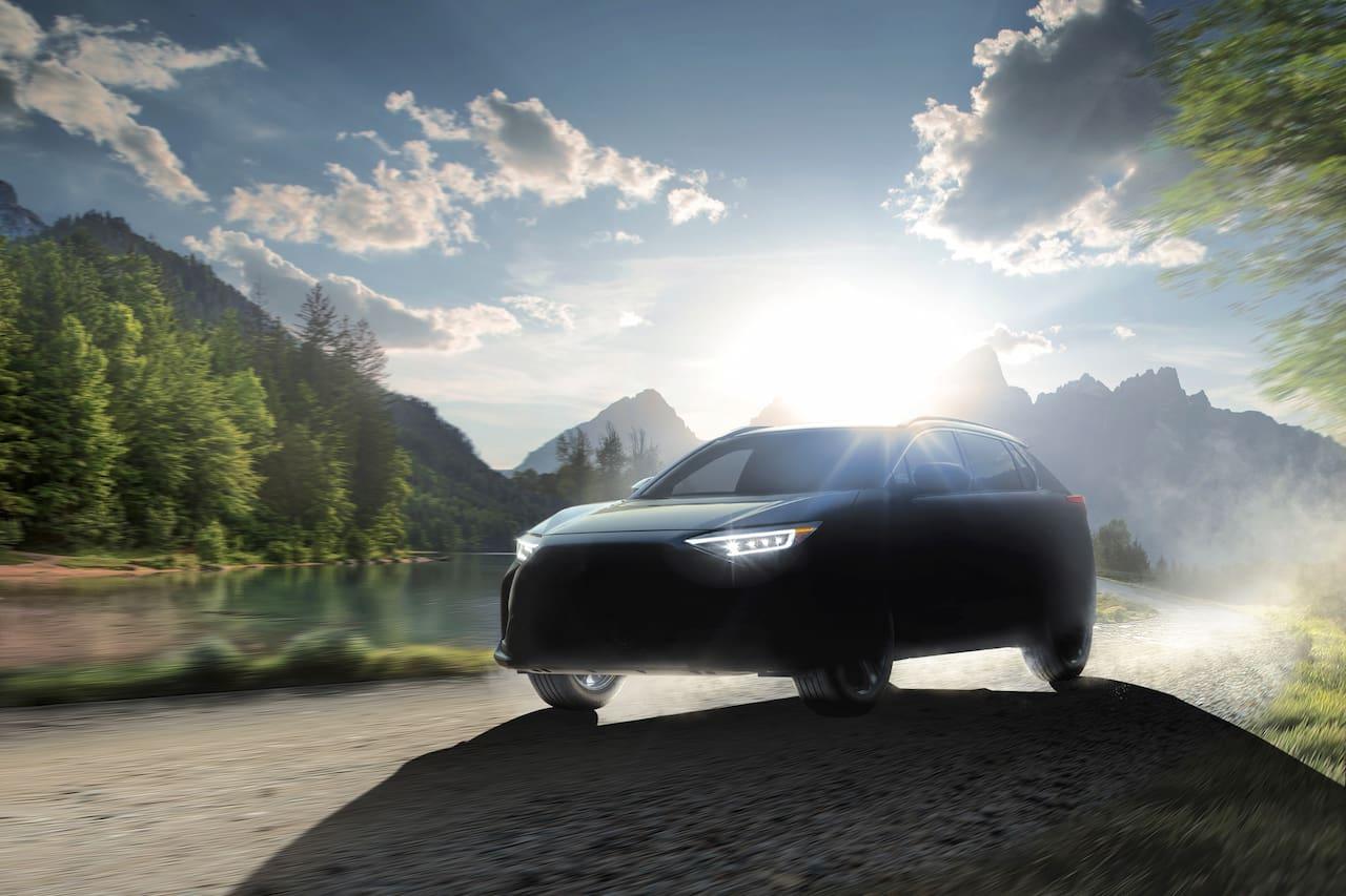 Subaru Solterra Subaru electric car