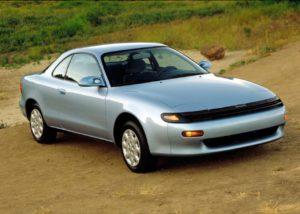 1990 Toyota Celica front three quarters