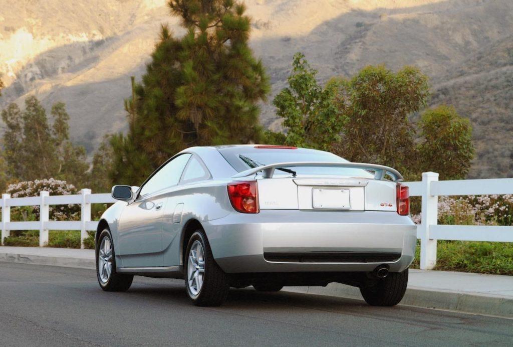 2004 Toyota Celica rear three quarters