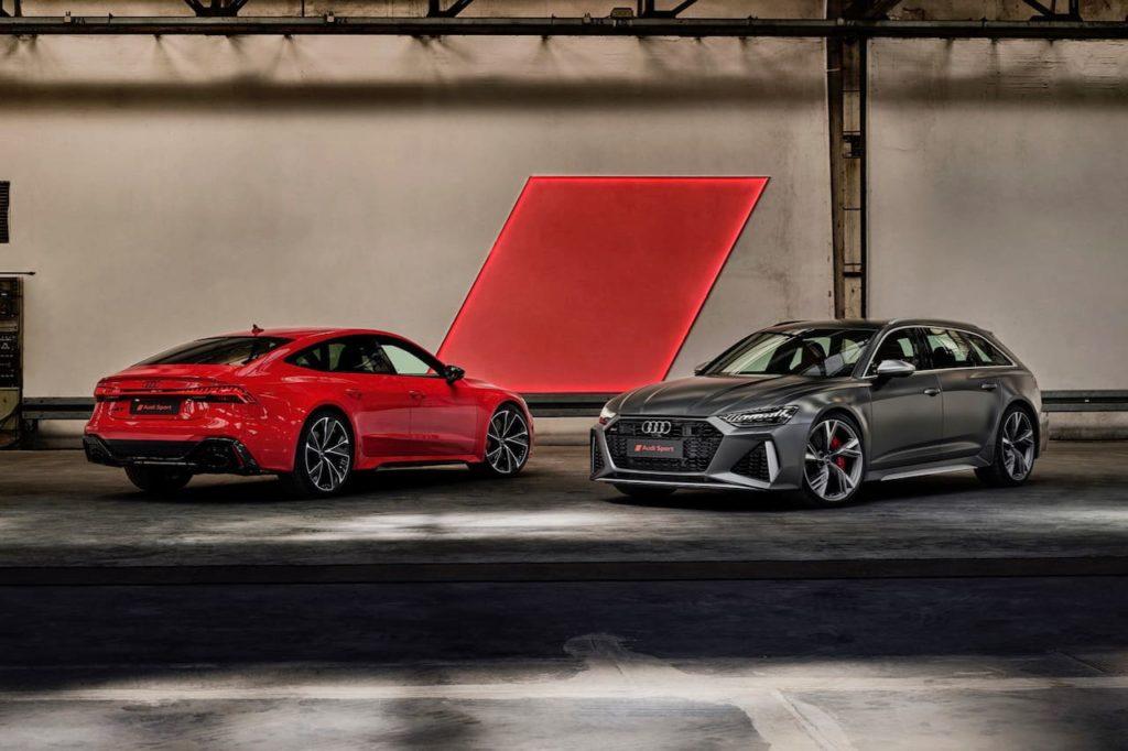 2020 Audi RS 6 Avant and 2020 Audi RS 7 Sportback