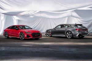 2020 Audi RS 7 Sportback and 2020 Audi RS 6 Avant