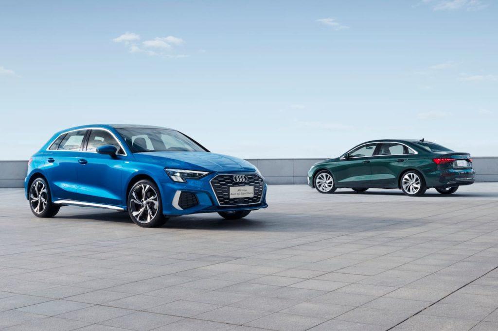2021 Audi A3 Sportback 2021 Audi A3 Sedan